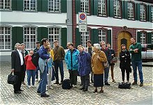 Walking tour of Basel old town
