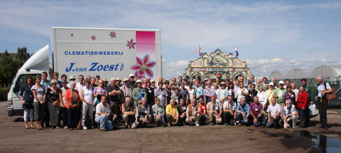 Belgium 2011 Group Photo - Nursery van Zoest