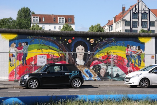 East Side Gallery©Ken Woolfenden