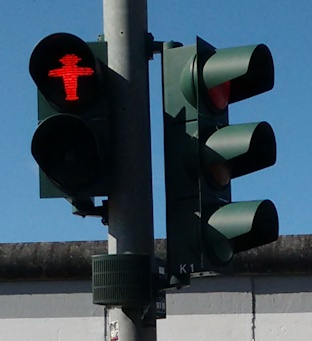 East German traffic lights©Fiona Woolfenden