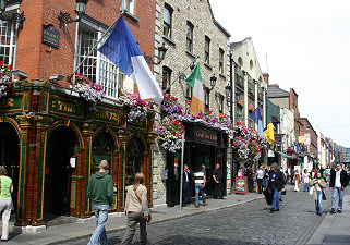 Pubs in Temple Bar, Dublin