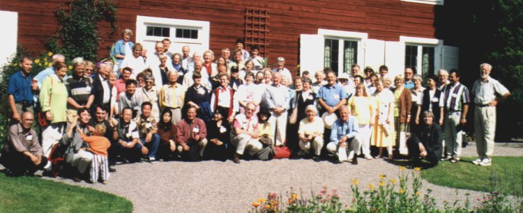 Group photo - taken at Hammarby