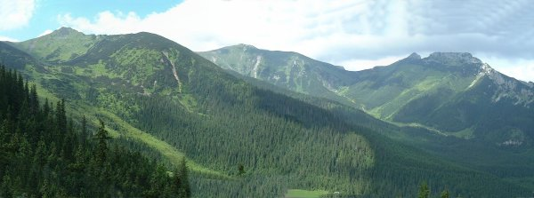 Tatra Mountains from Cable Car, southern Poland©K.Woolfenden