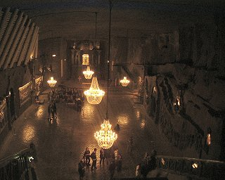 Wieliczka Salt Mine - Grand Hall©K.Woolfenden