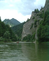 Rafting on the Dunajec river©K.Woolfenden