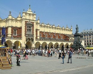 Cloth Hall, Main Market Square, Krakow©K.Woolfenden