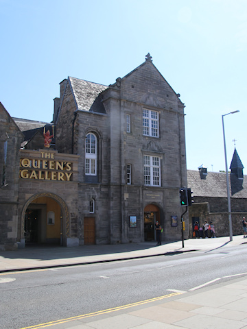 Queens Gallery, Holyrood Palace, standing opposite the Scottish Parliament©Ken Woolfenden