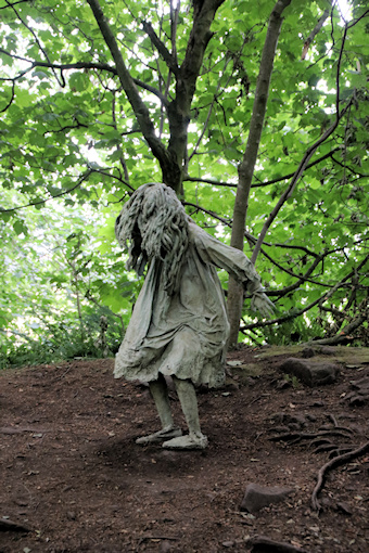 Weeping Girls by Laura Ford©Ken Woolfenden