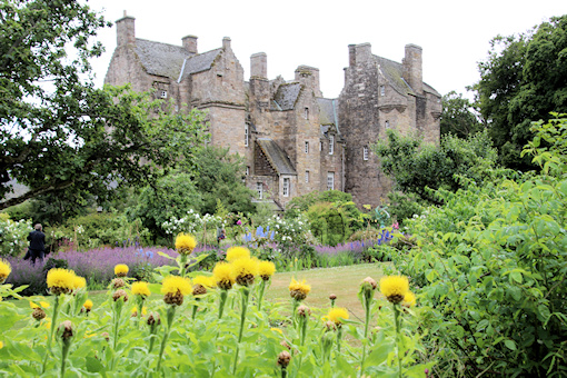 Kellie Castle from the garden©Ken Woolfenden