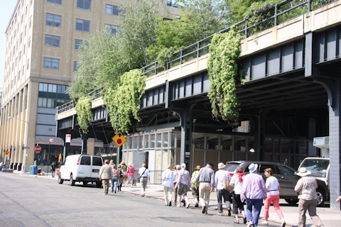 Entrance to High Line