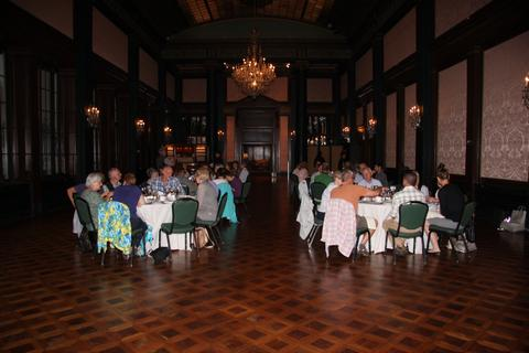 Longwood Gardens - Dinner in the Ballroom