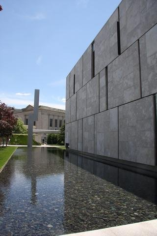 The new Barnes Foundation in central Philadelphia